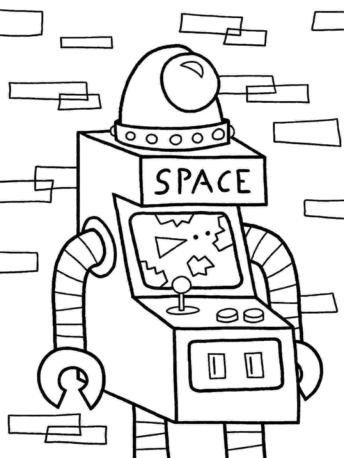 robot coloring sheets witty title coming soon october 2011 sheets robot coloring 1 1