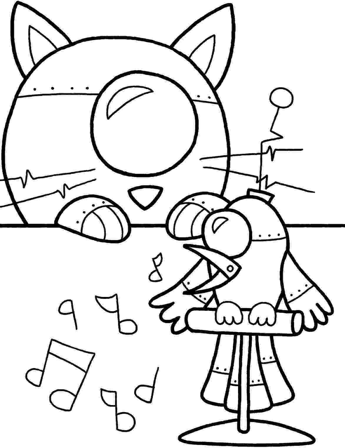 robots coloring pages belajar mewarnai versi anak cowok let39s learn pages robots coloring