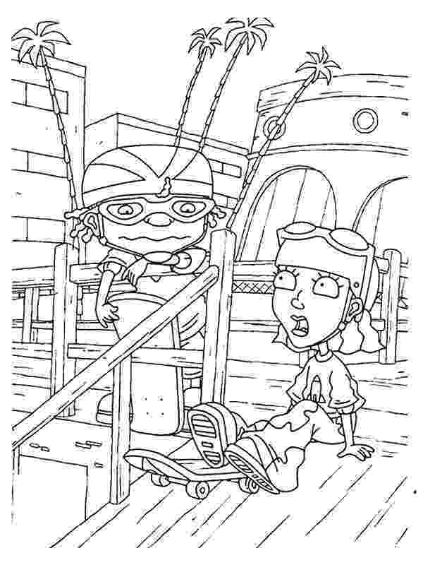 rocket power coloring pages kids n funcom 74 coloring pages of rocket power pages coloring power rocket 1 2