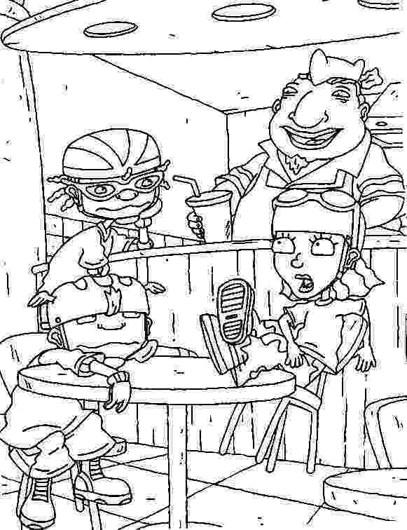 rocket power coloring pages kids n funcom 74 coloring pages of rocket power pages power rocket coloring 1 1