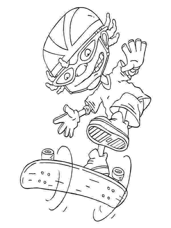 rocket power coloring pages rocket power drink rocket power pages coloring