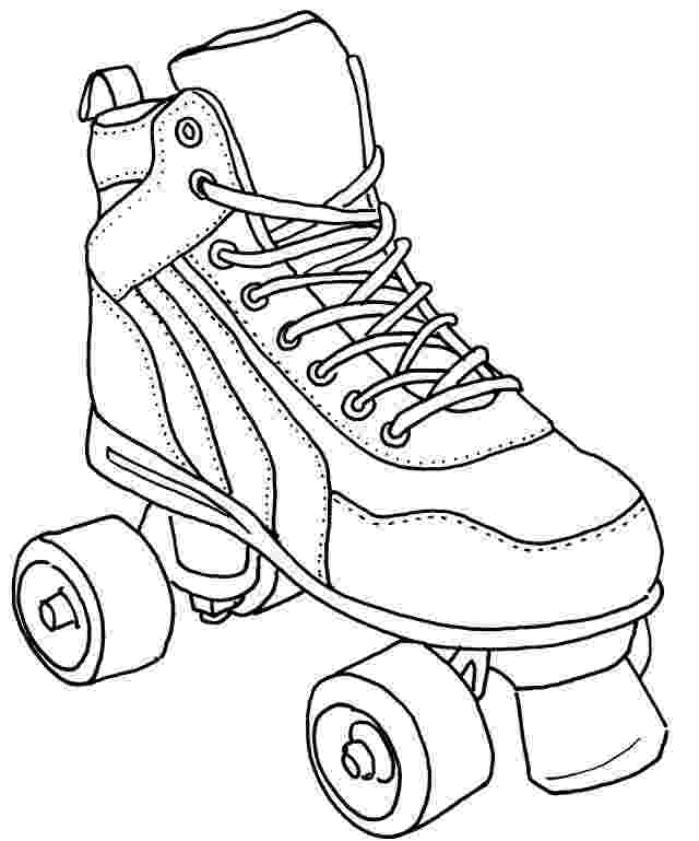 roller skate coloring page 8 best images about skate color sheets on pinterest roller skate page coloring