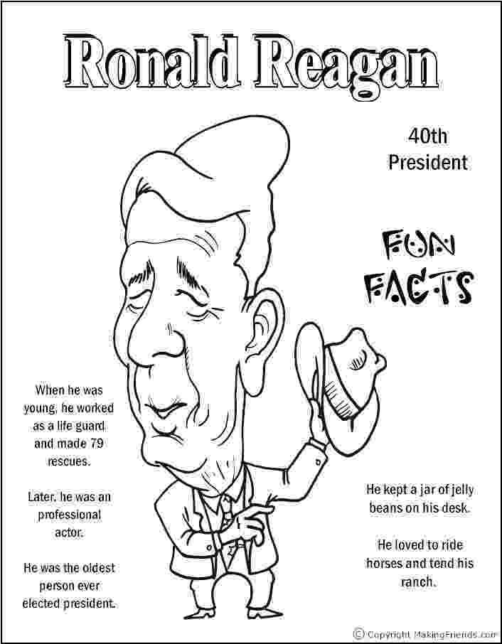 ronald reagan coloring pages madagascar thinking day download social studies for kids ronald coloring pages reagan