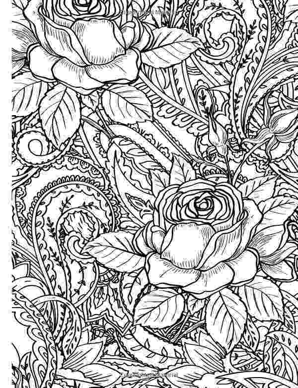 rose coloring pages for adults popular happy rose month pinterest coloring books adults coloring pages for rose