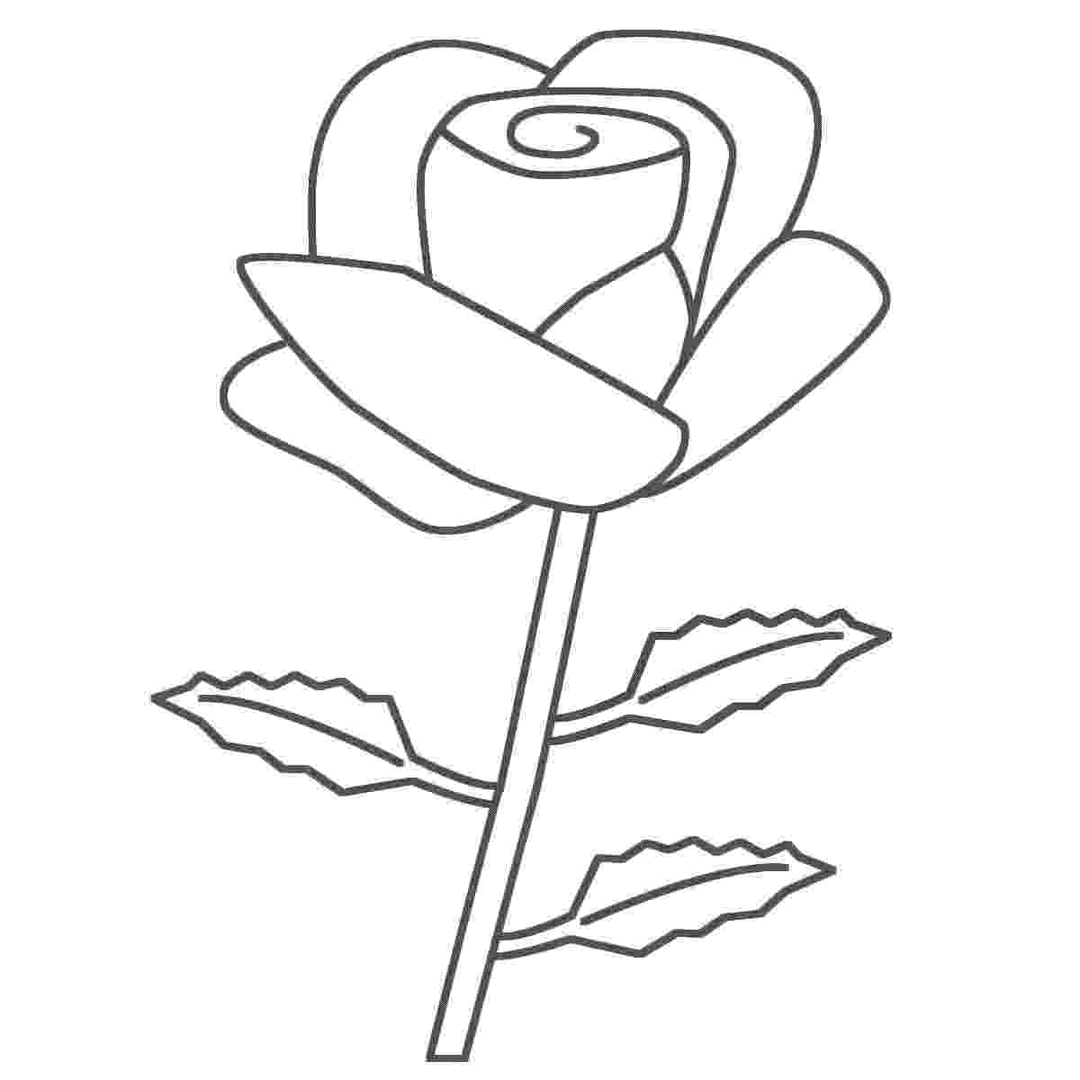 rose flower coloring page top 10 rose coloring pages that are beyond beautiful rose flower coloring page
