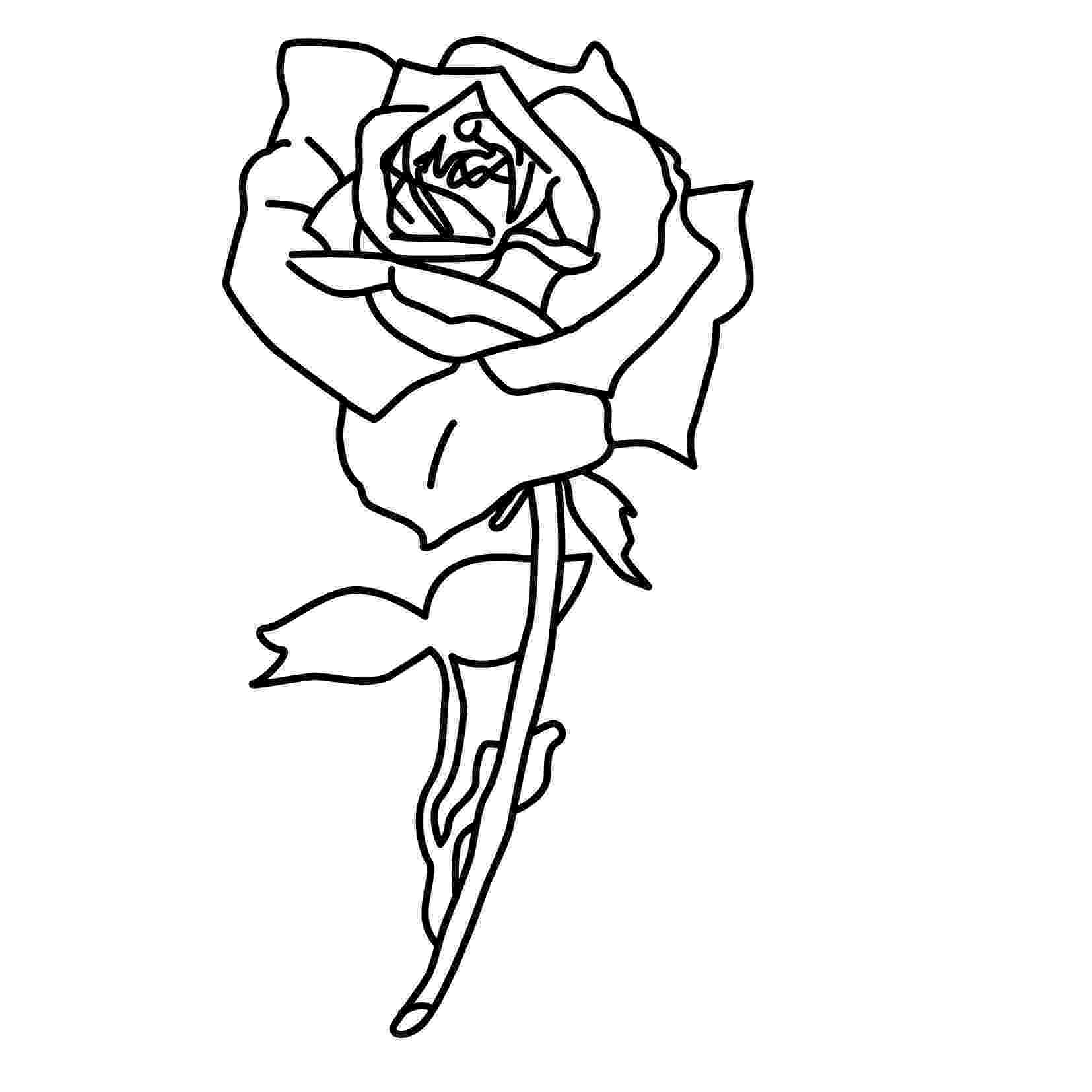 roses for coloring free printable roses coloring pages for kids coloring roses for 1 1