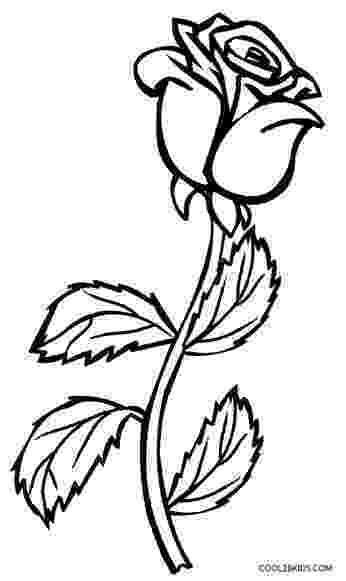 roses for coloring printable rose coloring pages for kids cool2bkids for coloring roses
