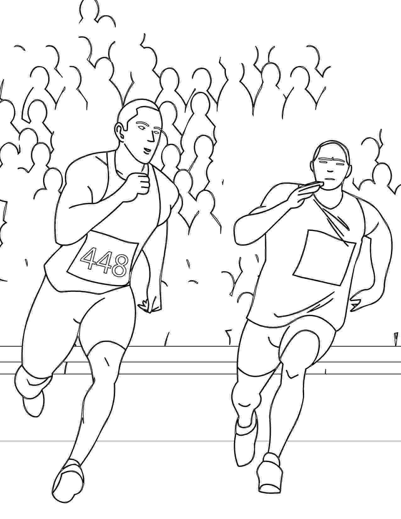 running coloring pages running coloring pages getcoloringpagescom coloring pages running
