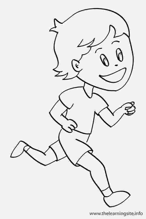 running coloring pages running coloring pages getcoloringpagescom running coloring pages
