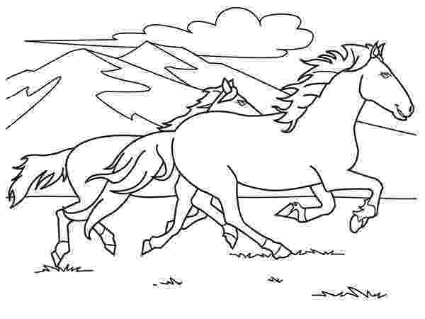 running horse coloring pages horse running fast in horses coloring page download pages coloring running horse