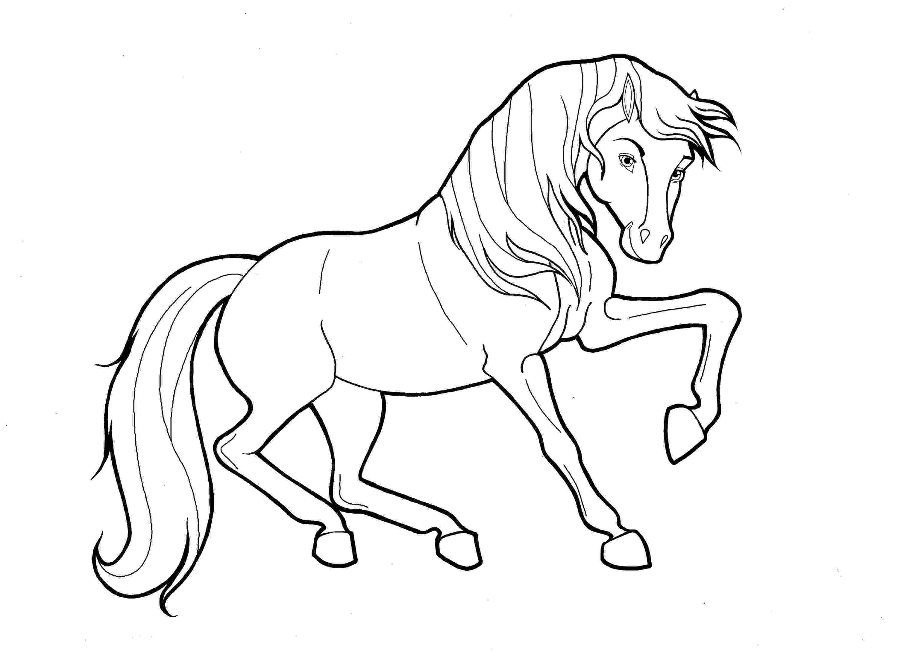 running horse coloring pages realistic horse coloring pages getcoloringpagescom horse pages coloring running
