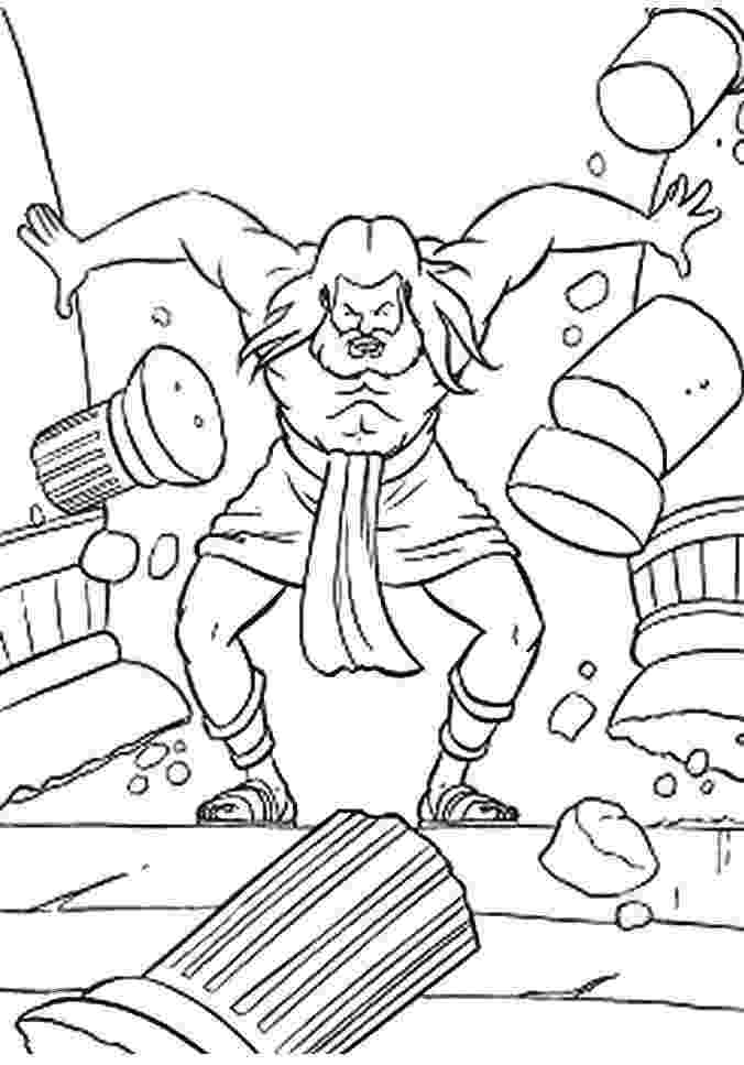 samson bible coloring pages 66 best images about samson on pinterest bible stories samson pages bible coloring