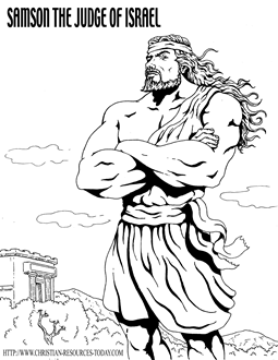 samson bible coloring pages samson and delilah old testament coloring pages bible pages bible samson coloring