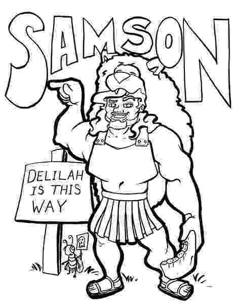 samson bible coloring pages samson coloring sheets coloring pages for christian samson pages bible coloring