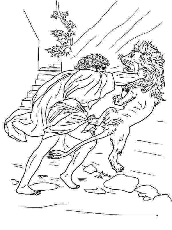 samson bible coloring pages samson strangle lions neck coloring page color luna coloring pages samson bible