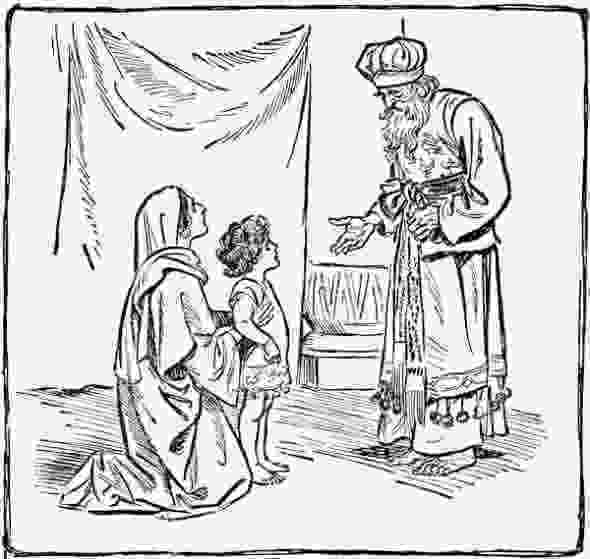 samuel rebukes saul hannah and samuel coloring page free printable coloring rebukes samuel saul
