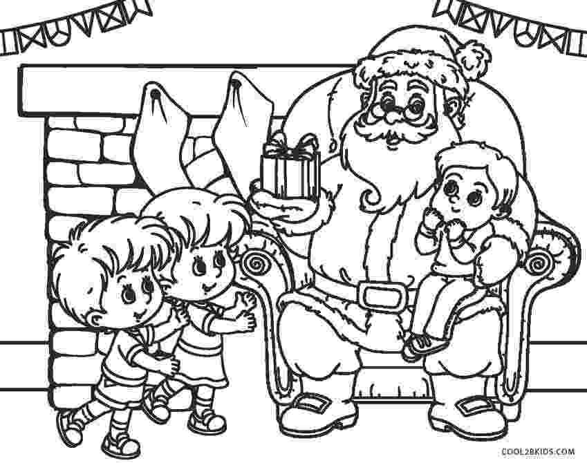 santa claus color free printable santa coloring pages for kids cool2bkids santa claus color