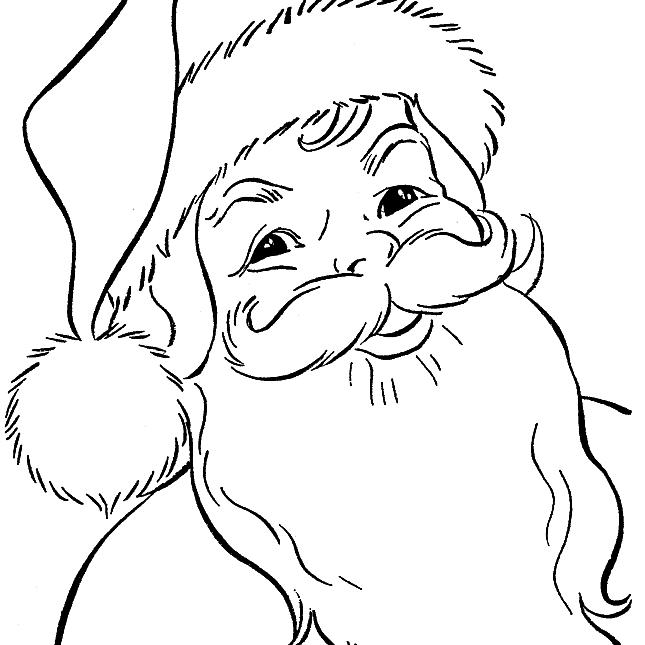santa claus color free santa coloring pages and printables for kids santa claus color