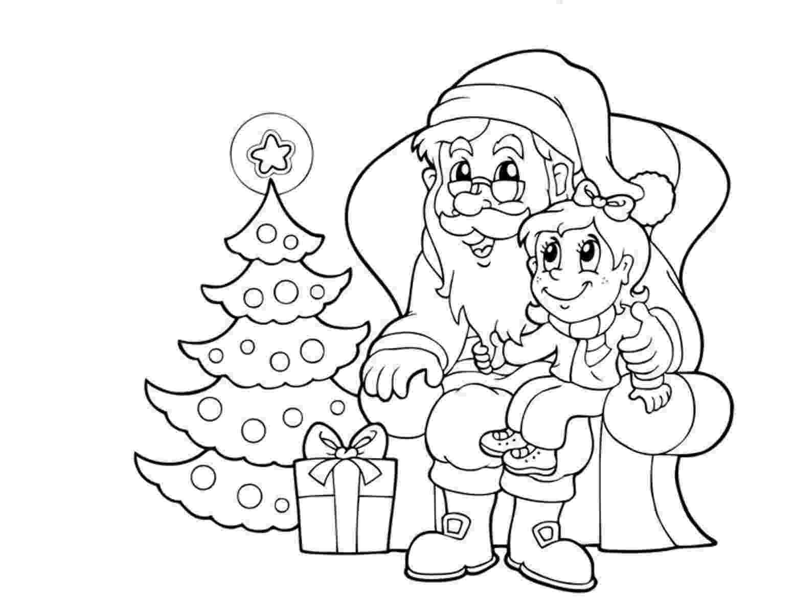 santa claus color santa claus coloring pages pictures images photos color santa claus