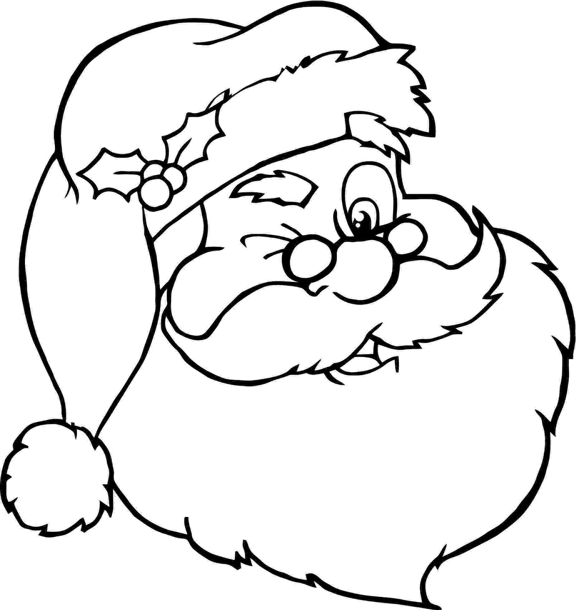 santa claus color santa claus head coloring pages gtgt disney coloring pages claus santa color