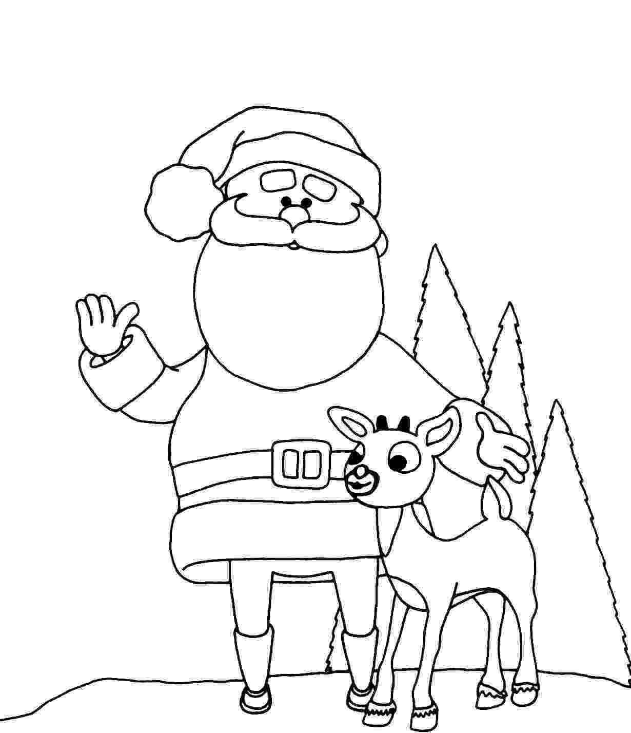 santa claus color yucca flats nm wenchkin39s coloring pages rankin bass claus color santa
