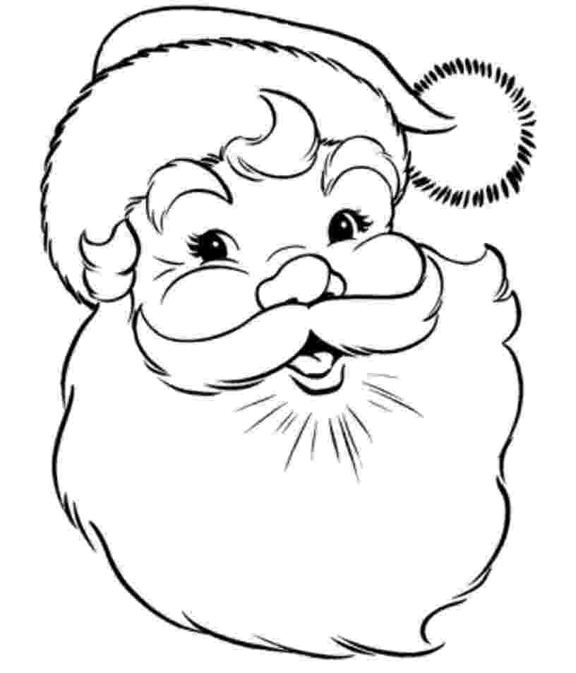 santa pictures to color santa coloring pages best coloring pages for kids color pictures santa to