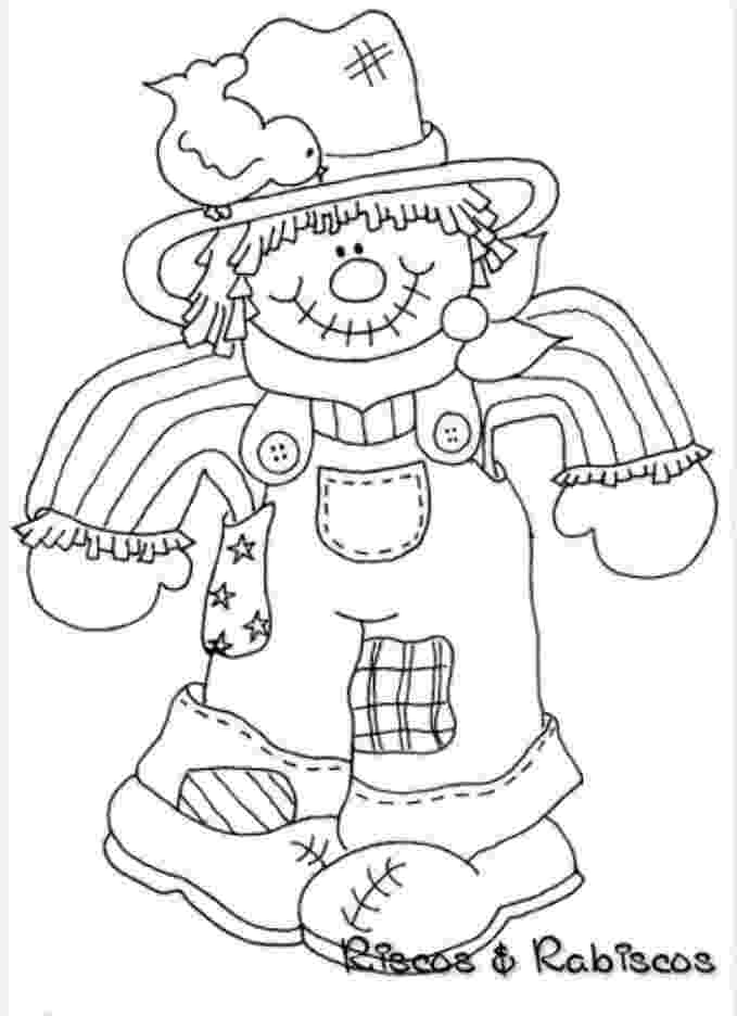 scarecrow coloring pages 1000 images about icolor quotscarecrowsquot on pinterest scarecrow coloring pages