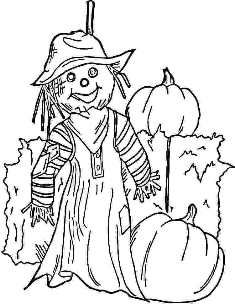 scarecrow coloring pages free printable scarecrow coloring pages for kids pages scarecrow coloring