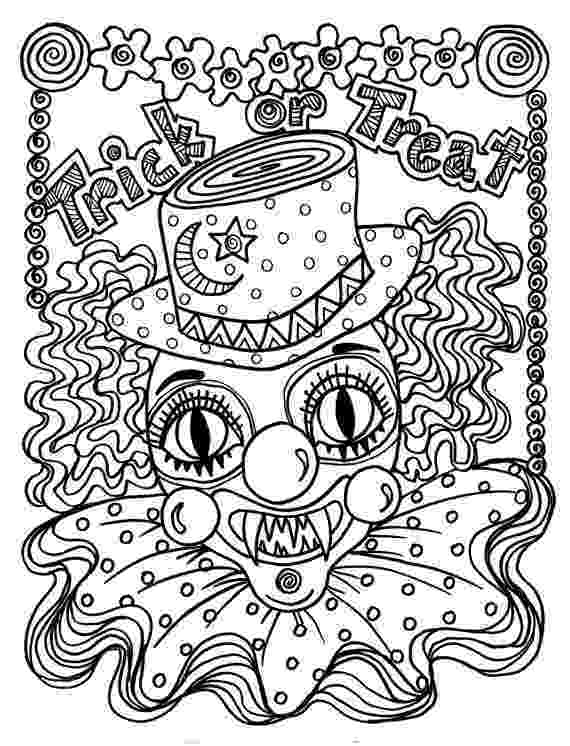 scary clown coloring page instant download scary clown halloween spooky coloring page coloring scary page clown