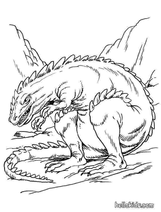scary dinosaur coloring pages scary dinosaur coloring pages at getdrawingscom free coloring scary dinosaur pages