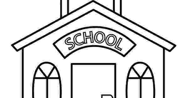 school building coloring pages coloring page of a school building coloring home building pages coloring school