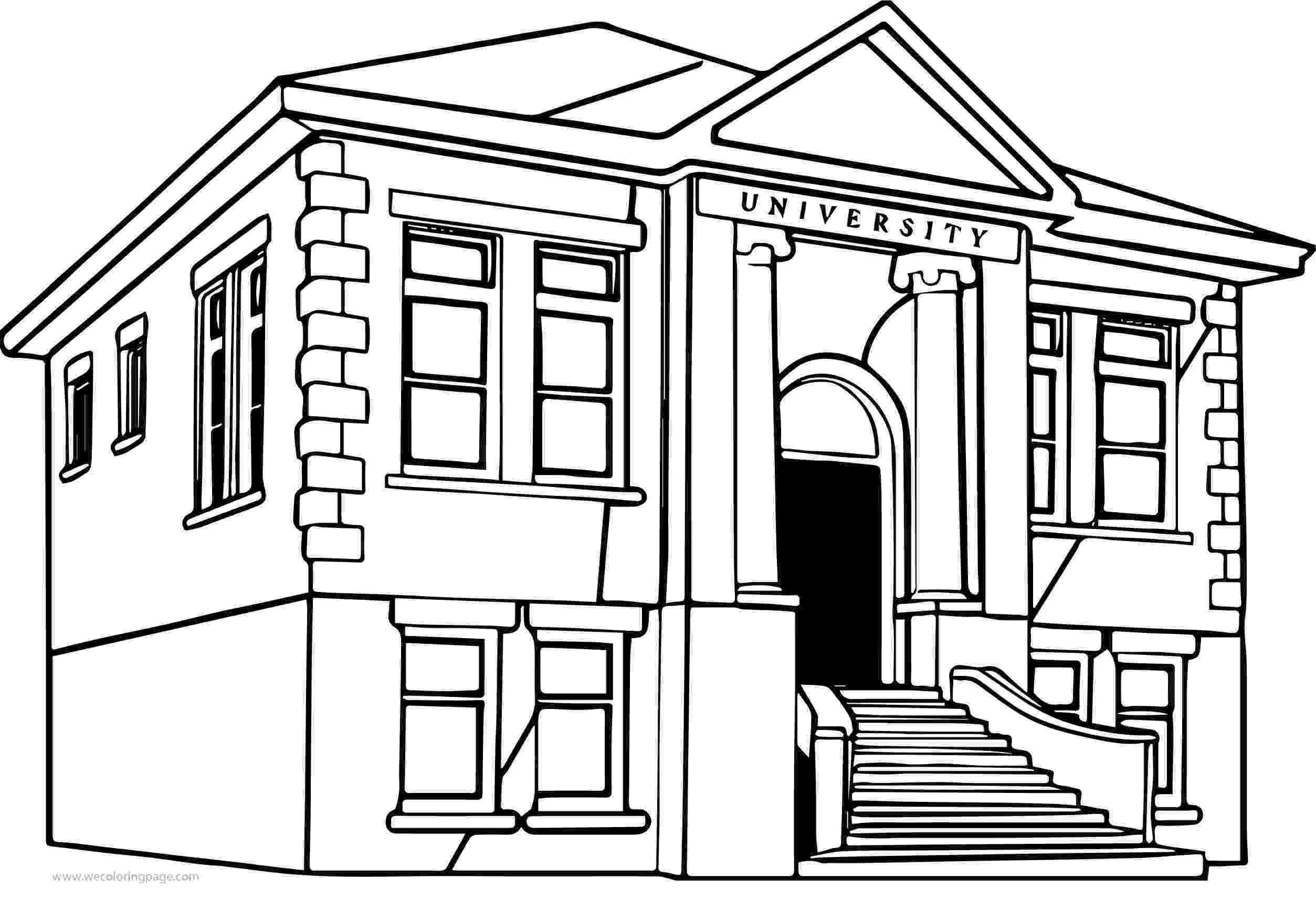 school building coloring pages school building coloring page classes coloring page for pages building coloring school
