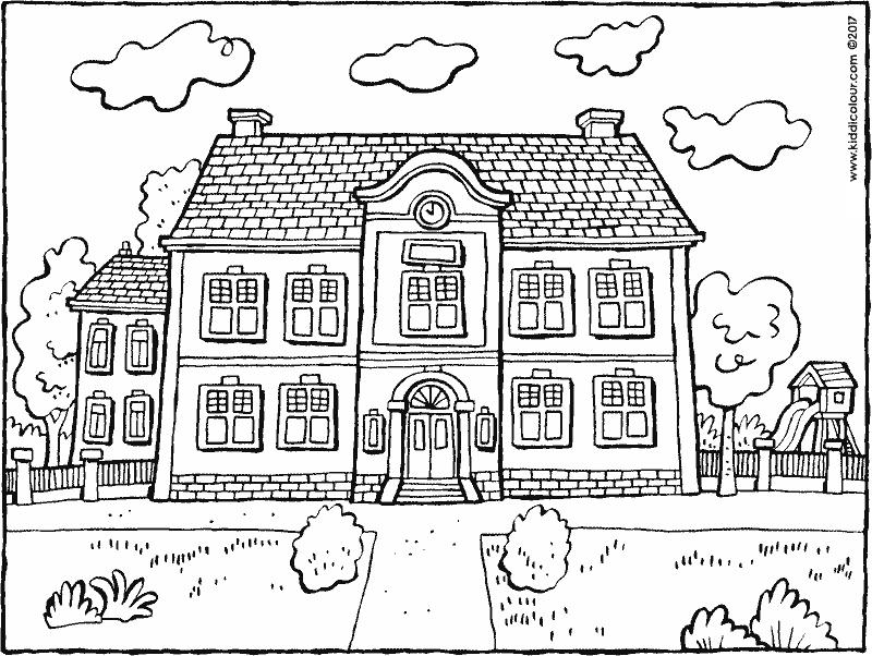 school building coloring pages school building coloring page classes coloring page for pages school building coloring