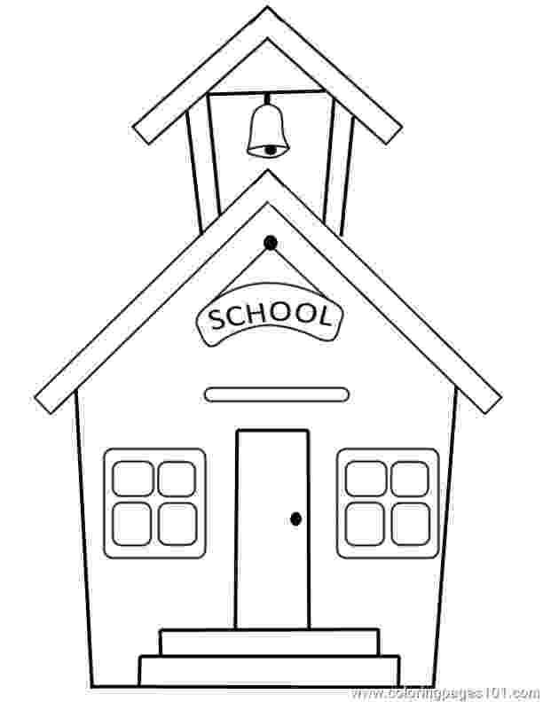 school building coloring pages school building coloring pages pages school building coloring