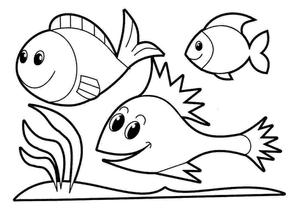school of fish coloring pages school of fish drawing clipart panda free clipart images of pages coloring school fish