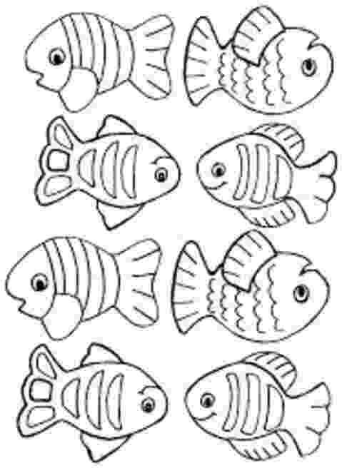 school of fish coloring pages small fish coloring pages for kids title down by the of coloring school fish pages