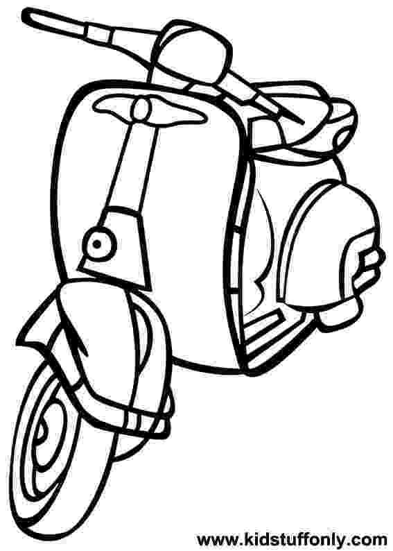 scooter colouring pictures mgp scooter coloring pages coloring pages scooter pictures colouring