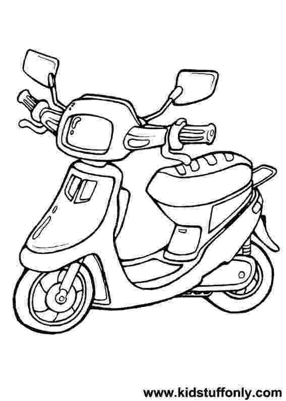 scooter colouring pictures scooter coloring page free spongebob squarepants pictures colouring scooter