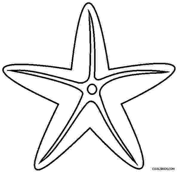 sea star pictures to color printable starfish coloring pages for kids cool2bkids color star sea to pictures