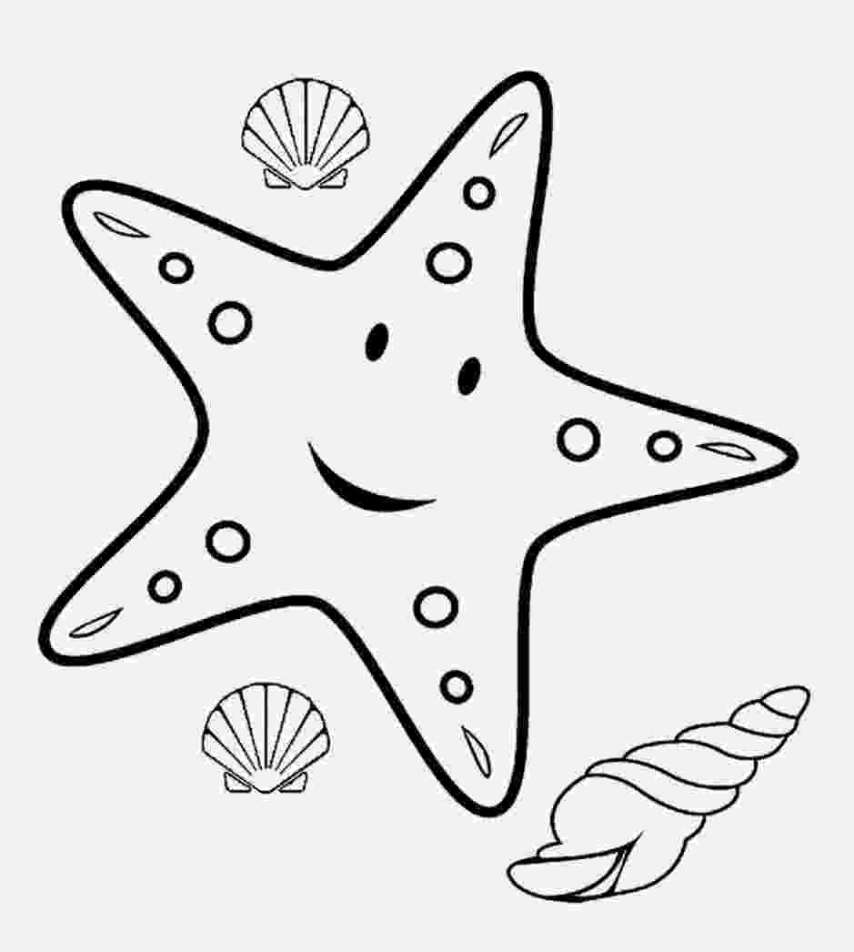 sea star pictures to color sea star coloring page pictures star to color sea