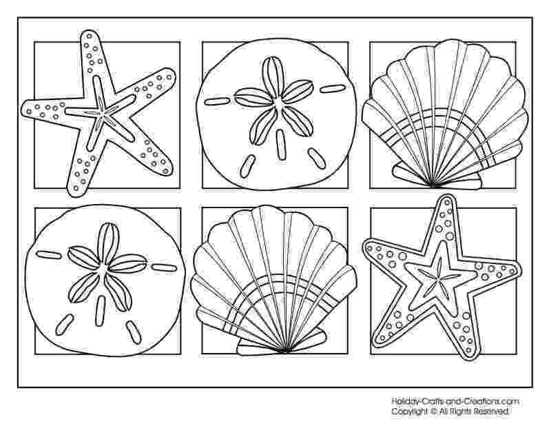 seashell coloring page seashell coloring pages to download and print for free coloring seashell page