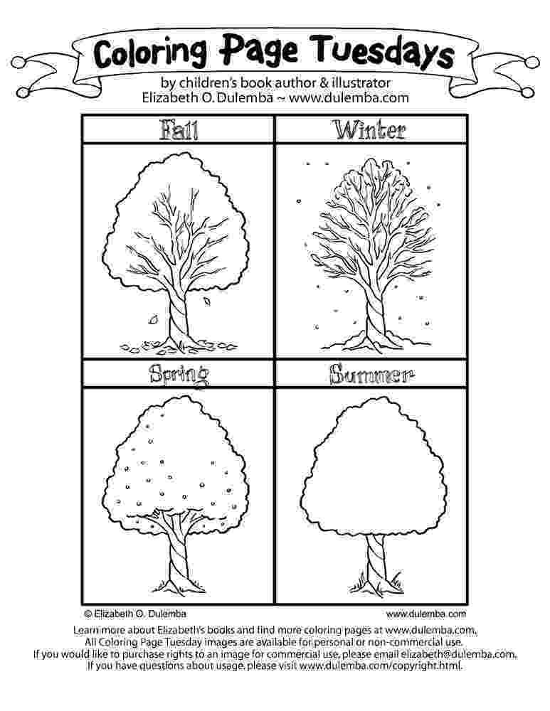 seasons coloring pages 4 seasons drawing at getdrawingscom free for personal pages seasons coloring