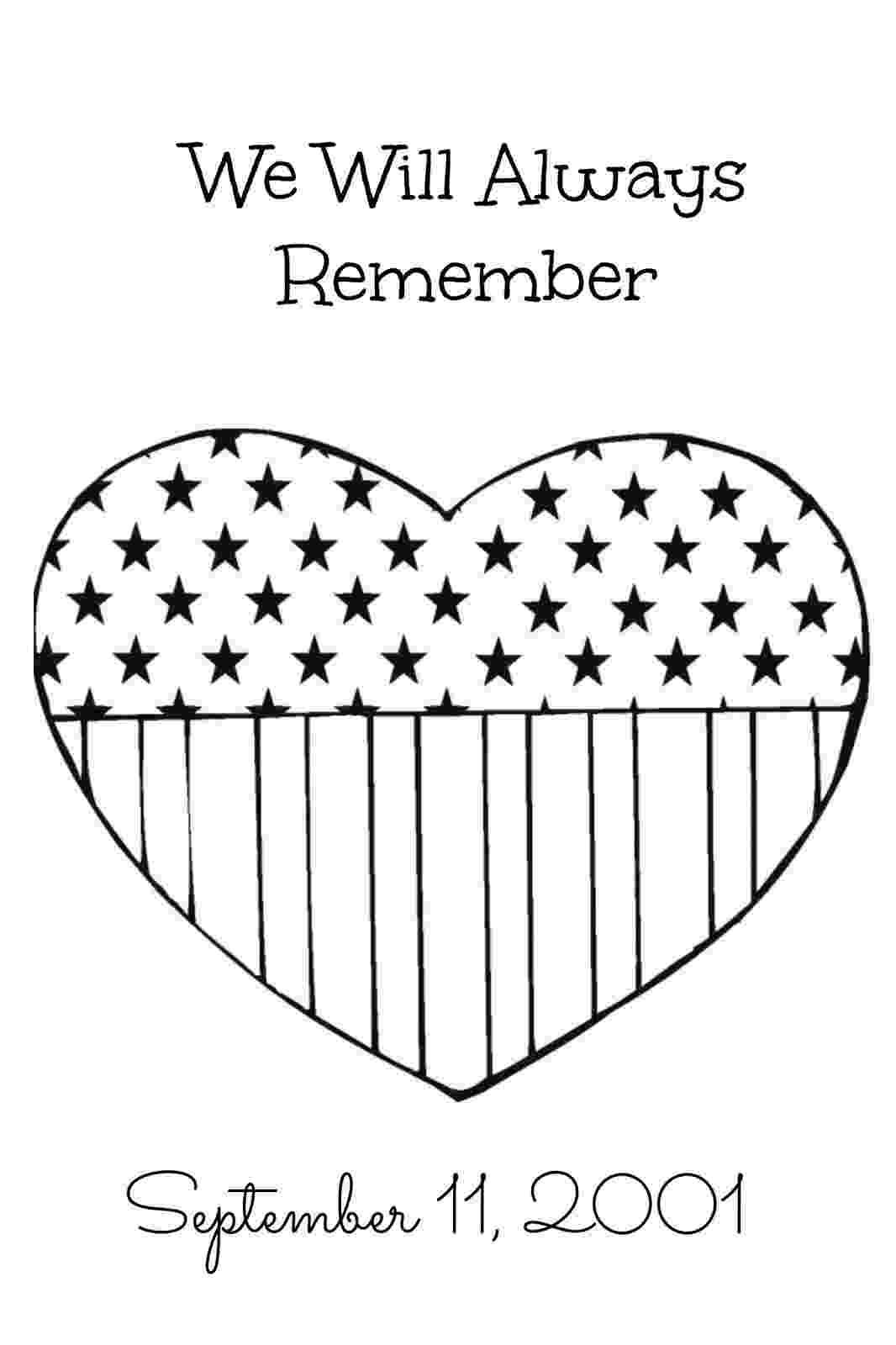 september 11 coloring pages we remember 9 11 01 coloring page free printable 11 pages coloring september