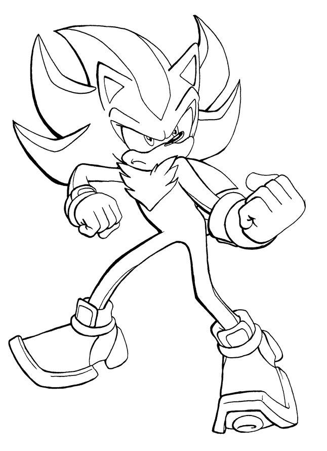 shadow coloring pages shadow the hedgehog coloring pages getcoloringpagescom pages coloring shadow 1 1