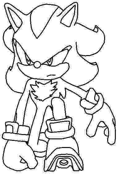 shadow coloring pages shadow the hedgehog coloring pages getcoloringpagescom pages shadow coloring