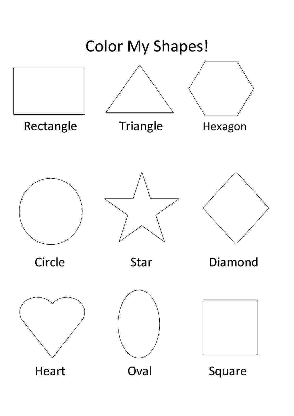 shape coloring page kaleidoscope kids shape kit page coloring shape