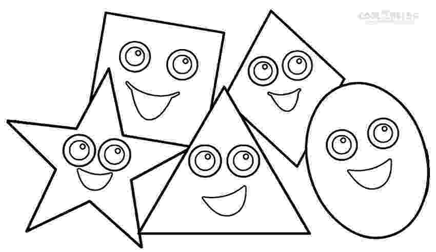 shape coloring page printable shapes coloring pages for kids cool2bkids shape coloring page