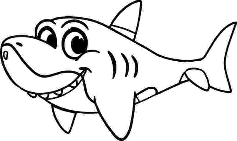 shark pictures to colour free printable shark coloring pages for kids colour shark to pictures 1 1