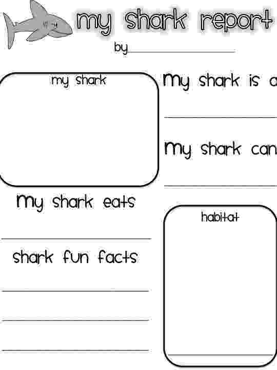 shark printables animal coloring pages shark printables