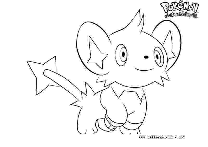 shinx coloring pages evolution of shinx pokemon coloring pages coloring pages shinx coloring pages